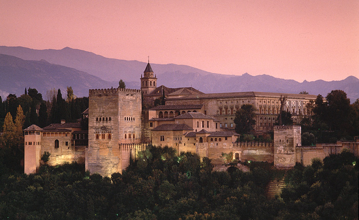 Alhambra Unesco World Heritage site, Granada Spain